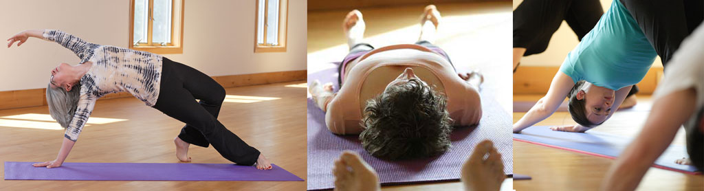 Ricarda O'Conner yoga class